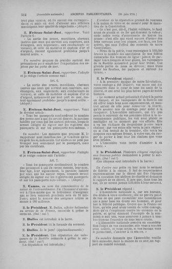 Tome 27 : Du 6 juin au 5 juillet 1791 - page 564