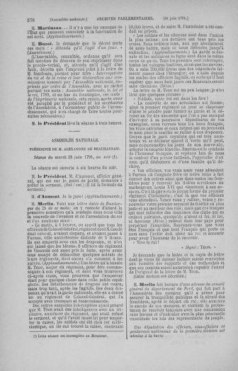 Tome 27 : Du 6 juin au 5 juillet 1791 - page 578