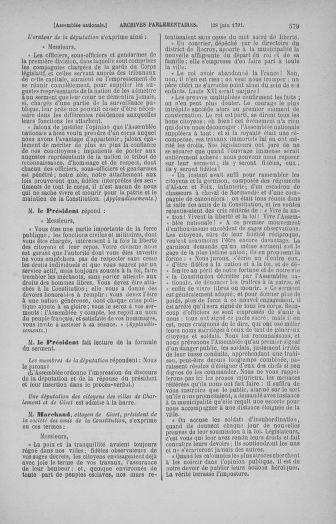 Tome 27 : Du 6 juin au 5 juillet 1791 - page 579