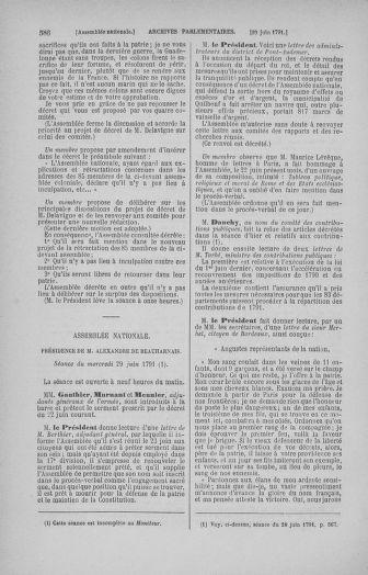Tome 27 : Du 6 juin au 5 juillet 1791 - page 586