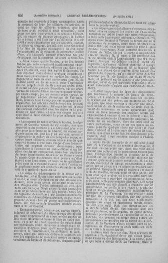 Tome 27 : Du 6 juin au 5 juillet 1791 - page 606