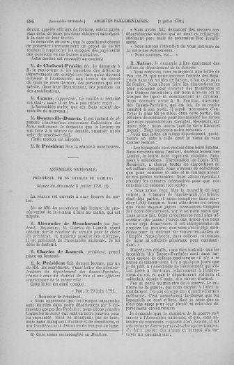 Tome 27 : Du 6 juin au 5 juillet 1791 - page 686