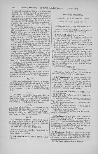 Tome 27 : Du 6 juin au 5 juillet 1791 - page 696