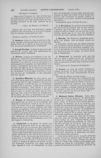Tome 27 : Du 6 juin au 5 juillet 1791 - page 698