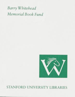 Barry Whitehead Memorial Book Fund