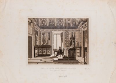 Palazzo Vaticano. Biblioteca, Sala dell'Inginocchiatoio