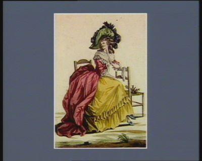 La  Douce et complaisante Eléonor cherchant l'occasion de soulager les aristocrates comme les bons patriottes, avec ardeur. Ah ! ça ira, ça ira, ca ira [estampe]