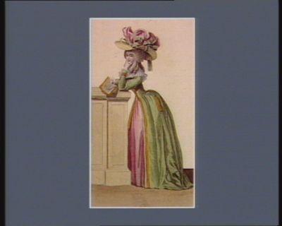 [<em>Costumes</em> masculins et feminins, accessoires de mode pour 1786-1787] [estampe]