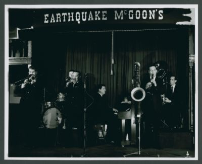 Turk Murphy Jazz Band 1967: Turk Murphy, Thad Vandon, Eddie Johnson, Pete Clute, Jack Crook and Bill Carroll
