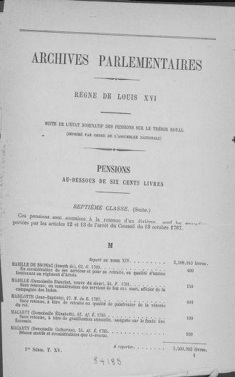 Tome 15 : Du 21 avril au 30 mai 1790 - page 1