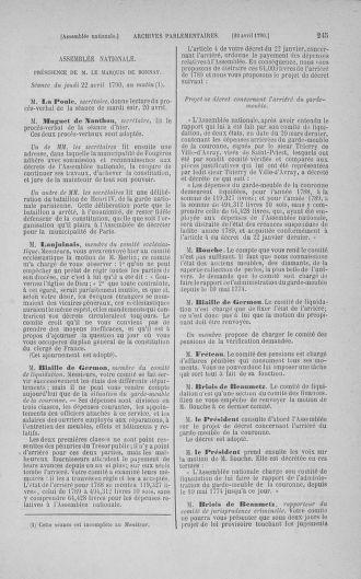 Tome 15 : Du 21 avril au 30 mai 1790 - page 245