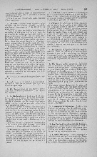 Tome 15 : Du 21 avril au 30 mai 1790 - page 247
