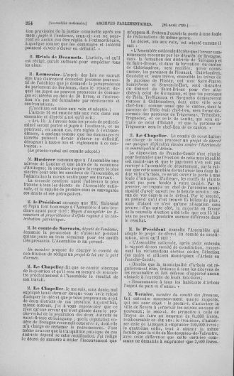 Tome 15 : Du 21 avril au 30 mai 1790 - page 264
