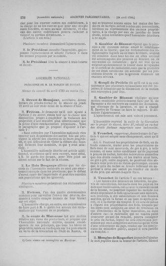 Tome 15 : Du 21 avril au 30 mai 1790 - page 276