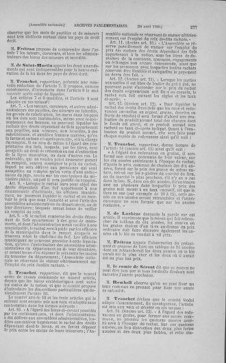 Tome 15 : Du 21 avril au 30 mai 1790 - page 277