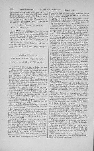 Tome 15 : Du 21 avril au 30 mai 1790 - page 282
