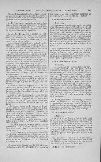 Tome 15 : Du 21 avril au 30 mai 1790 - page 283
