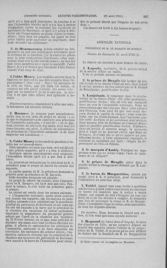Tome 15 : Du 21 avril au 30 mai 1790 - page 287