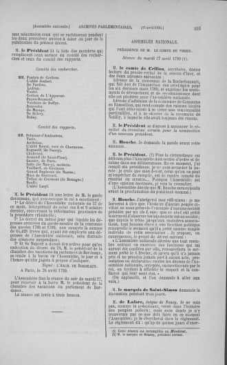 Tome 15 : Du 21 avril au 30 mai 1790 - page 295