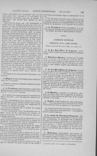 Tome 15 : Du 21 avril au 30 mai 1790 - page 323