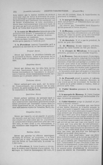 Tome 15 : Du 21 avril au 30 mai 1790 - page 324