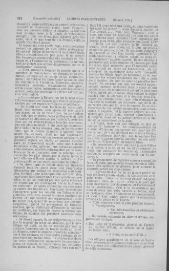 Tome 15 : Du 21 avril au 30 mai 1790 - page 334