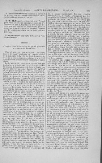 Tome 15 : Du 21 avril au 30 mai 1790 - page 335