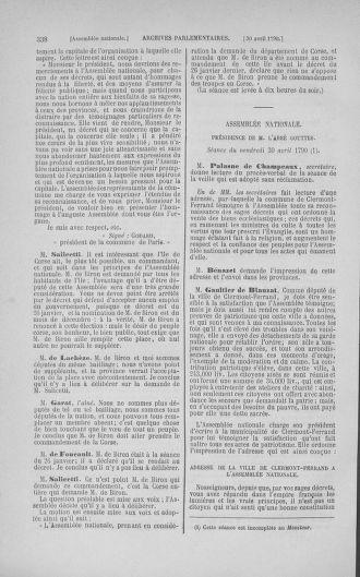 Tome 15 : Du 21 avril au 30 mai 1790 - page 338
