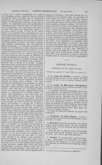 Tome 15 : Du 21 avril au 30 mai 1790 - page 349