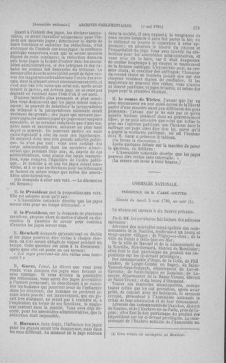 Tome 15 : Du 21 avril au 30 mai 1790 - page 371