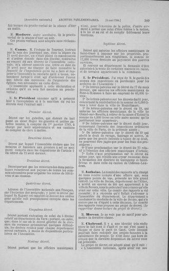 Tome 15 : Du 21 avril au 30 mai 1790 - page 389