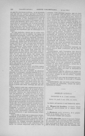 Tome 15 : Du 21 avril au 30 mai 1790 - page 406