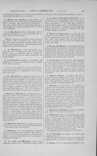 Tome 15 : Du 21 avril au 30 mai 1790 - page 407