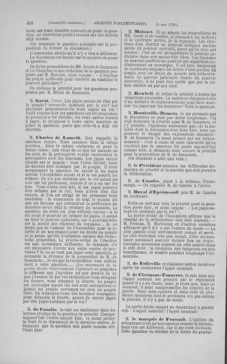 Tome 15 : Du 21 avril au 30 mai 1790 - page 408
