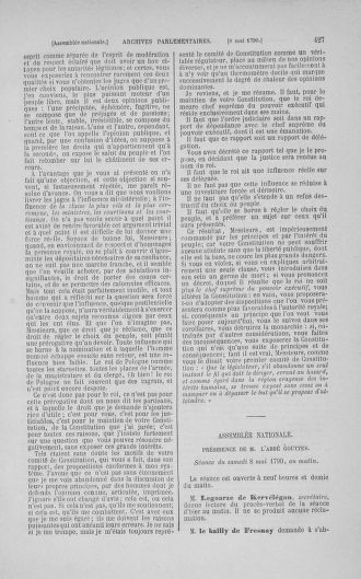 Tome 15 : Du 21 avril au 30 mai 1790 - page 427