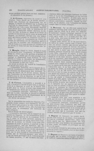 Tome 15 : Du 21 avril au 30 mai 1790 - page 428