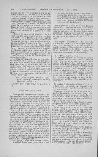 Tome 15 : Du 21 avril au 30 mai 1790 - page 434