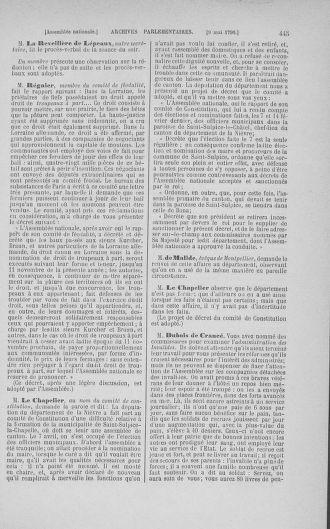 Tome 15 : Du 21 avril au 30 mai 1790 - page 445