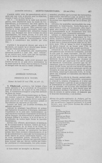 Tome 15 : Du 21 avril au 30 mai 1790 - page 457