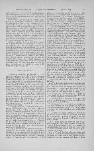 Tome 15 : Du 21 avril au 30 mai 1790 - page 477