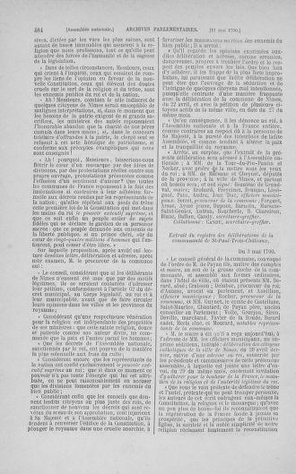 Tome 15 : Du 21 avril au 30 mai 1790 - page 484