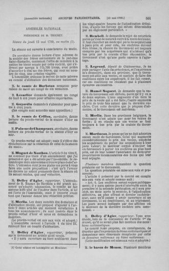 Tome 15 : Du 21 avril au 30 mai 1790 - page 501