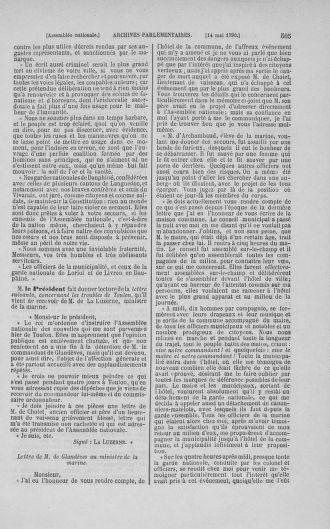 Tome 15 : Du 21 avril au 30 mai 1790 - page 505