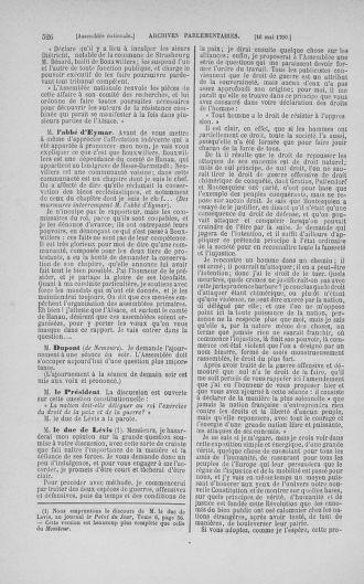 Tome 15 : Du 21 avril au 30 mai 1790 - page 526