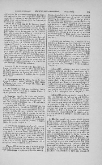 Tome 15 : Du 21 avril au 30 mai 1790 - page 531
