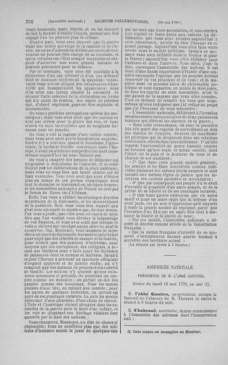 Tome 15 : Du 21 avril au 30 mai 1790 - page 576