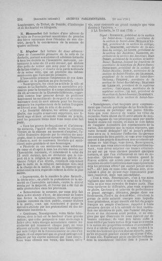 Tome 15 : Du 21 avril au 30 mai 1790 - page 594