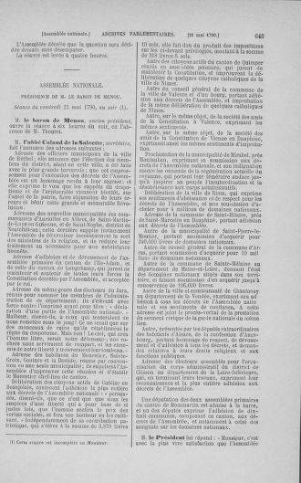 Tome 15 : Du 21 avril au 30 mai 1790 - page 645