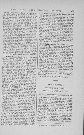 Tome 15 : Du 21 avril au 30 mai 1790 - page 675