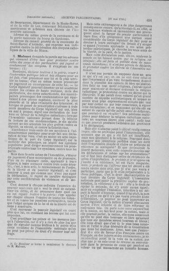 Tome 15 : Du 21 avril au 30 mai 1790 - page 691